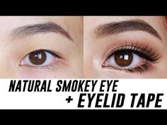 Smokey Eye Makeup for Hooded or Asian Eyes - YouTube