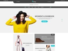 Fancy – eCommerce Fashion Template