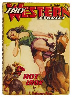 Spicy Western Stories Mar By Book Covers Mars Sci Fi Vintage Sexy