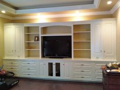 image of: bedroom wall units with drawers and tv | wardrobe