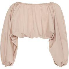 Cult Gaia Rose Quartz Mar Bolero ($230) ❤ liked on Polyvore featuring outerwear, jackets, pink bolero, bolero jacket, pink bolero jacket and pink jacket
