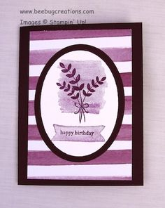 """""""For All Things"""" stamp set, Stampin' Up!; http://www.beebugcreations.com/?p=1936"""