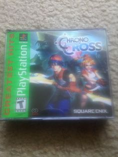Chrono Cross Playstation 1 COMPLETE IN BOX- 2 DISC SET | Video Games & Consoles, Video Games | eBay!