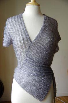 Irina's Vogue Knitting Lace Top
