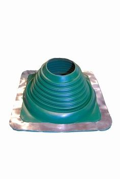 5 Square Dark Green Pipe Flashing 4' - 7' *** Details can be found by clicking on the image.