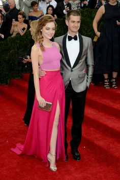 Emma Stone | All the 2014 Met Gala Gowns: Prepare Yourselves, Couture Nerds | Bustle