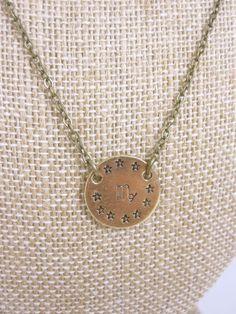 Virgo Necklace Zodiac Necklace Astrology Jewelry by kbjhandmade, $26.00