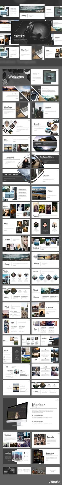 Highopes - Powerpoint Template - Business PowerPoint Templates