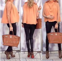 Так стильно и вдохновенно, что хоть сразу за третьим!;) Pregnant style