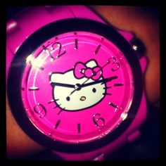 47f94c24a 41 Best Hello Kitty Watch images in 2013 | Clocks, Hello kitty ...