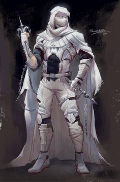 Moon Knight suit concept art by - MoonKnight Marvel Concept Art, Fantasy Concept Art, Fantasy Character Design, Dark Fantasy Art, Marvel Art, Character Art, Alien Concept, Comic Kunst, Comic Art