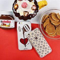 Uma das melhores forma de curar um coração partido! {cases: nutella e nutellinhas} [FRETE GRÁTIS A PARTIR DE DUAS GOCASES] #gocasebr #instagood #iphonecase #phonecase #nutella #choco #heart #doce #dessamore #lifeonadraw #minhagocase