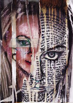 Inspiration for the gcse question on disguises disguise art, identity art, Collages, Collage Art, Disguise Art, Art Doodle, Ap Studio Art, Identity Art, Expressive Art, A Level Art, Portrait Art