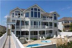 Oceanfront Outer Banks Rentals | Pine Island Rentals | Ocean Legasea