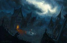 Barovia . The village in Ravenloft