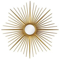 Starburst mirror. Perfect for over fireplace.