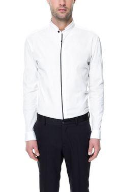 MAO COLLAR SHIRT - Shirts - Man - ZARA United States