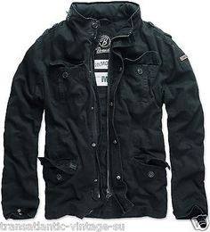 BRANDIT BRITANNIA VINTAGE MENS MILITARY M65 STYLE SHORT ARMY LIGHTWEIGHT JACKET