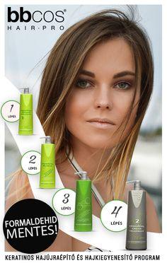 A BBCOS Hidrolizált Keratinos Hajkiegyenesítő és Hajfeltöltő a megoldásának alkalmazása során mikromolekuláris keratint juttathatunk a hajba, minek eredménye a sima, egyenes, egészségesen fénylő és dús haj 3-4 hónapon át.  A kezelés csak négy, egyszerűen alkalmazható lépésből áll! Keratin, Shampoo, Personal Care, Bottle, Beauty, Self Care, Personal Hygiene, Flask, Beauty Illustration