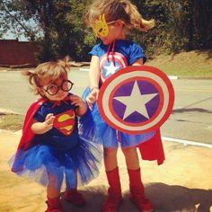 Superman para menina - autor desconhecido