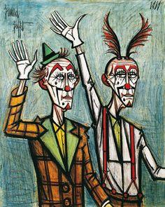 Bernard buffet, Duo clows Buffet