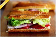 Jambonlu Soğuk Sandviç