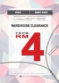 9-22 Mar 2015: Baby Kiko & Kiko Warehouse Sale for Kids Apparels Clearance