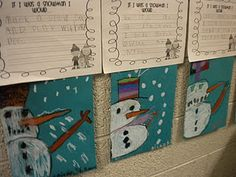 Snowman Writing Prompt - - Pinned by @PediaStaff – Please visit http://ht.ly/63sNt for all (hundreds of) our pediatric therapy pins