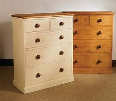 Mottisfont Painted Pine 2 Over 3 Chest Of Drawers 1