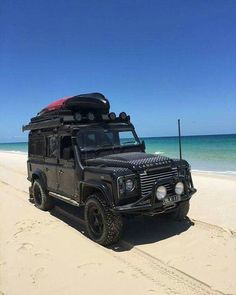 Land Rover Defender 110 Td4 Twisted to beach adventure.