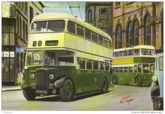 Derby Corporation Daimler CVD6 bus