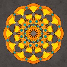 Sacred Geometry #9 Art Print