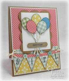 Birthday Girl by strappystamper - Cards and Paper Crafts at Splitcoaststampers