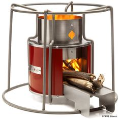 http://wildstoves.co.uk/rocket-stove-cookers/new-horizon-stove/  EzyStove | Wood-fuelled Camp Cooking