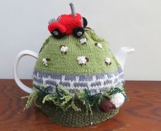 Tractor tea cosy                                                                                                                                                      More