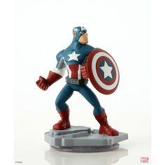 "Disney Infinity: Marvel Super Heroes (2.0 Edition) Captain America Figure - Disney Interactive - Toys ""R"" Us"