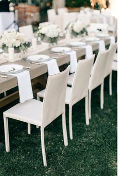 Modern Wedding Chairs Idea White For Reception Skyla Brooke Weddings And Events