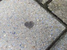 Heart-shaped gum