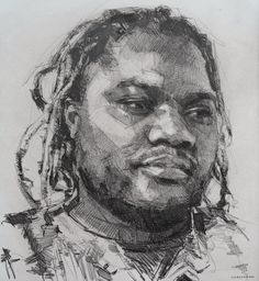 Potrait Drawing Colin Davidson amazing artist, loved seeing his work in person. Life Drawing, Drawing Sketches, Pencil Drawings, Art Drawings, Sketching, Portrait Sketches, Pencil Portrait, Portrait Art, Illustration Art