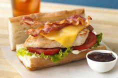 Chicken & Cheese Sub Sandwiches recipe