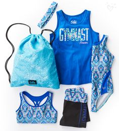 High-performance tanks, tees, shorts and leggings for every back handspring and…