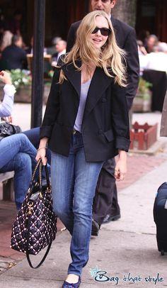 Amanda Seyfried's Special Edition Miu Miu (Image 1) - Bag That Style - Celebrity Handbags #Handbags