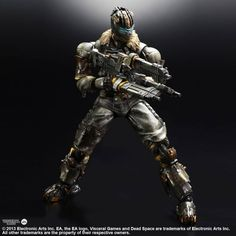 Play Arts Kai - Dead Space 3 - Isaac Clarke by Square Enix: £69.99 (saving 12% against the RRP)