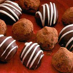 French Holiday Truffles- for an impressive gift or dessert.