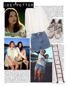 Joey Potter - Outfit Inspiration - Season 1 by vilena-ferreira on Polyvore featuring moda, Michael Kors, adidas and Däv
