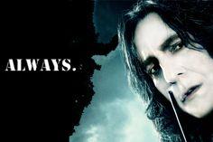mrs severus snape | Always Snape Wallpaper Hp7 severus snape: always by