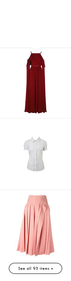""""""""""" by darilentamara ❤ liked on Polyvore featuring dresses, gowns, elie saab, long dress, vestidos, burgundy, red ball gown, long red dress, long boho dresses and long bohemian dresses"""