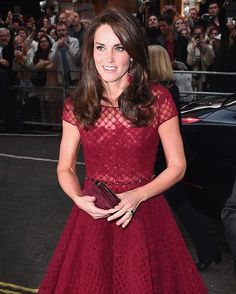 Why not match your envelope clutch and @katespadeny earrings to your crimson @marchesafashion dress? #KateMiddleton thought it was a good idea. : @gettyimages  via INSTYLE MAGAZINE OFFICIAL INSTAGRAM - Fashion Campaigns  Haute Couture  Advertising  Editorial Photography  Magazine Cover Designs  Supermodels  Runway Models