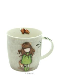 Santoro London - Hrneček - Gorjuss - The Fox Santoro London, 3d Cards, Santorini, Home Deco, Coffee Cups, Tea Pots, Projects To Try, Stationery, Mugs