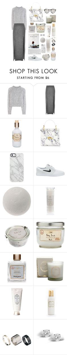 """39."" by sabon ❤ liked on Polyvore featuring Wood Wood, Wes Gordon, Balenciaga, Uncommon, NIKE, Just Acces, Glitzy Rocks, Illesteva and gray"